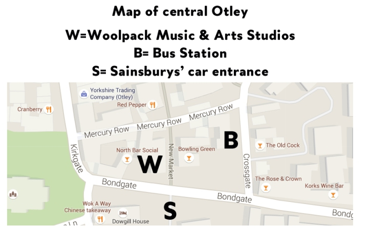 woolpack map
