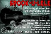 SPOOK-U-LELE 29th October 2016