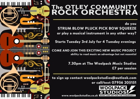 New! Otley Community Rock Orchestra