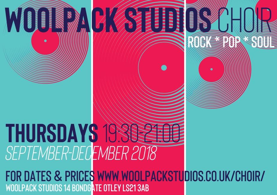 WOOLPACK STUDIOS CHOIR POSTER