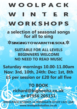 WINTER SINGING WORKSHOPS