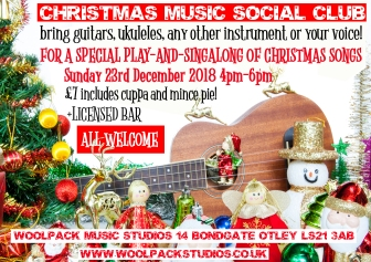 CHRISTMAS MUSIC SOCIAL CLUB