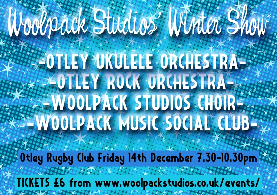 WINTER SHOW FLYER