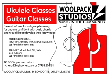 ukulele and guitar courses green 2018
