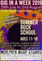 Summer Holiday Rock School