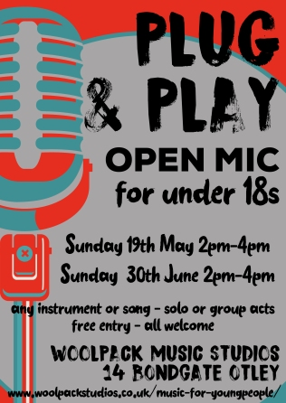 Young people's open mic
