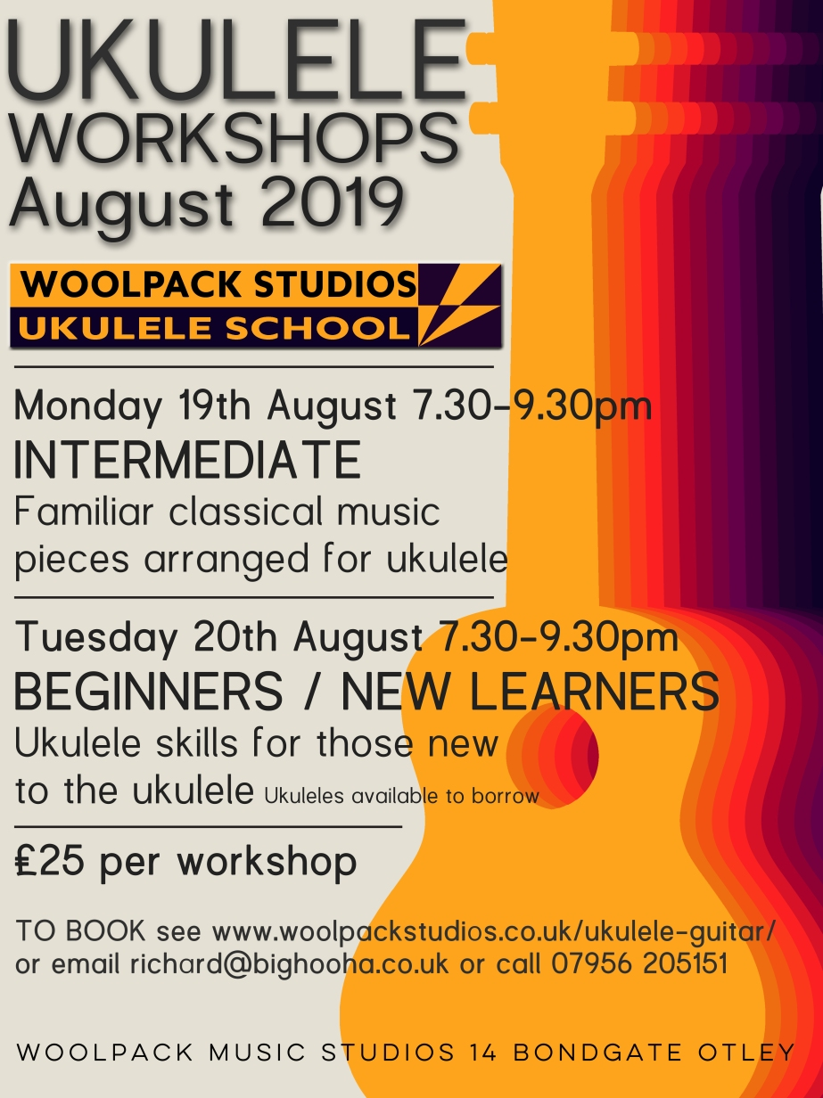 UKULELE BEGINNERS CLASSICAL AUGUST 2019