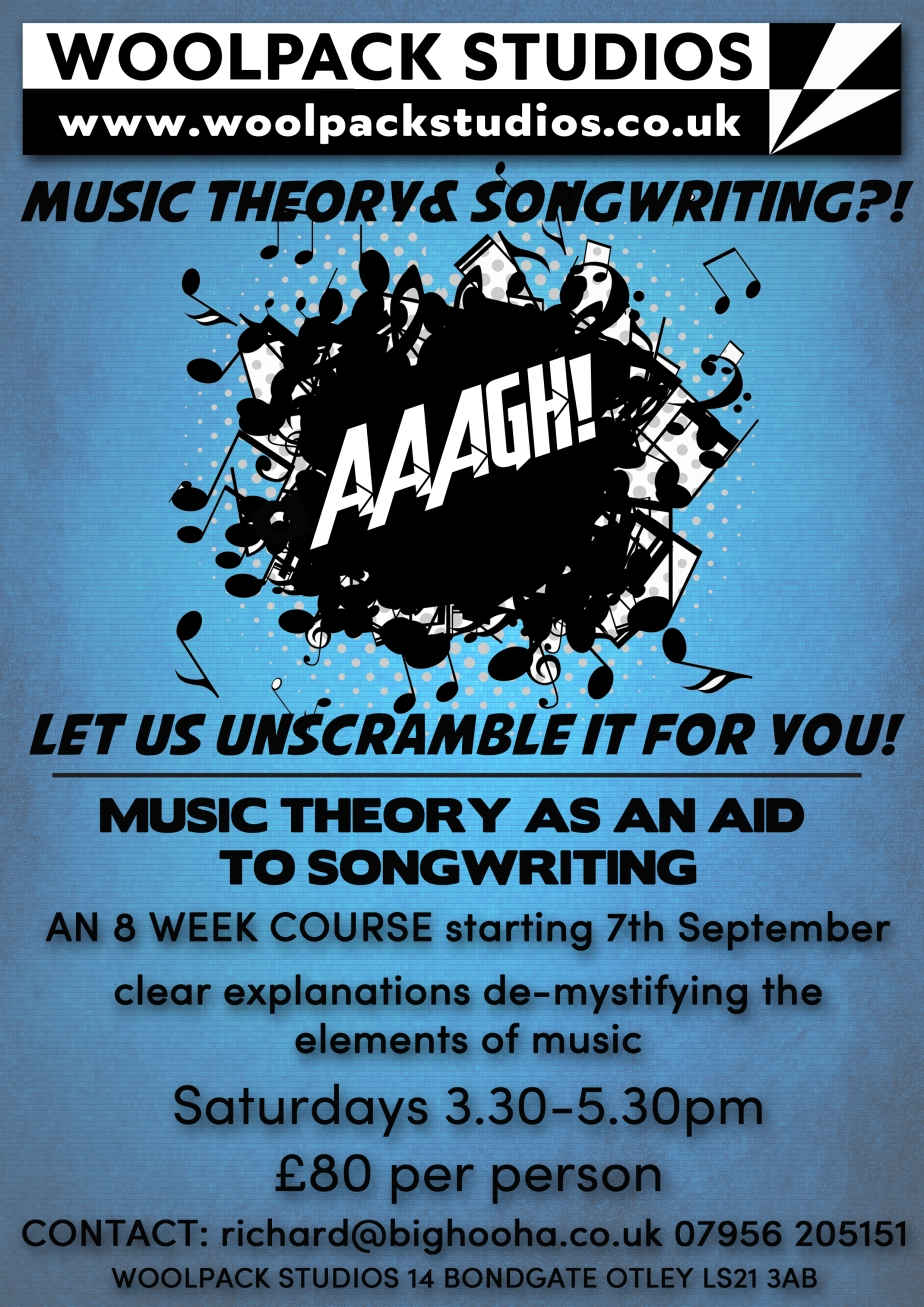 music theory flyer