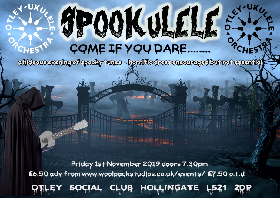 spookulele 2019 poster